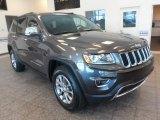 2014 Granite Crystal Metallic Jeep Grand Cherokee Limited 4x4 #87865328