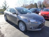 2014 Sterling Gray Ford Focus Titanium Sedan #87864835