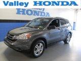 2010 Polished Metal Metallic Honda CR-V EX AWD #87864646