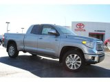 2014 Silver Sky Metallic Toyota Tundra Limited Double Cab 4x4 #87864932