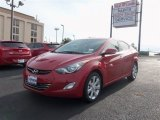 2013 Red Hyundai Elantra Limited #87864710