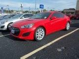 2013 Tsukuba Red Hyundai Genesis Coupe 2.0T #87864709
