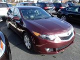 2010 Basque Red Pearl Acura TSX Sedan #87865319