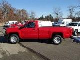 2014 Victory Red Chevrolet Silverado 1500 WT Regular Cab 4x4 #87865314