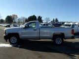 2014 Silver Ice Metallic Chevrolet Silverado 1500 WT Regular Cab #87865313