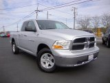 2012 Bright Silver Metallic Dodge Ram 1500 SLT Quad Cab 4x4 #87865132
