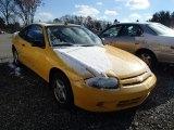 2003 Yellow Chevrolet Cavalier Coupe #87865299
