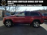 2014 Deep Cherry Red Crystal Pearl Jeep Grand Cherokee Limited 4x4 #87864804