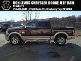 2014 Western Brown Ram 1500 Laramie Longhorn Crew Cab 4x4 #87864797