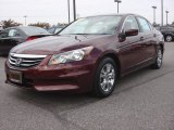 2011 Basque Red Pearl Honda Accord LX-P Sedan #87864901