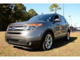 2013 Sterling Gray Metallic Ford Explorer Limited #87865196