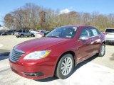 2014 Deep Cherry Red Crystal Pearl Chrysler 200 Limited Sedan #87865095