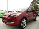 2014 Ruby Red Ford Escape Titanium 2.0L EcoBoost #87864776