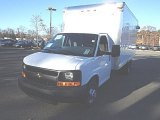 2014 Summit White Chevrolet Express Cutaway 3500 Moving Van #87864602