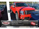 2011 Race Red Ford F150 FX4 SuperCab 4x4 #87864598
