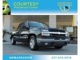 2005 Dark Green Metallic Chevrolet Silverado 1500 LS Crew Cab #87865151