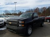 2014 Black Chevrolet Silverado 1500 WT Regular Cab 4x4 #87910910