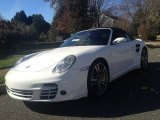 2008 Carrara White Porsche 911 Turbo Cabriolet #87911341