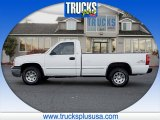 2004 Summit White Chevrolet Silverado 1500 Regular Cab 4x4 #87911257