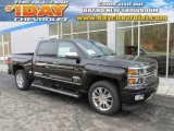 2014 Black Chevrolet Silverado 1500 High Country Crew Cab 4x4 #87910725
