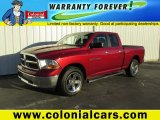 2011 Deep Cherry Red Crystal Pearl Dodge Ram 1500 SLT Quad Cab 4x4 #87911337