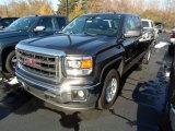 2014 Iridium Metallic GMC Sierra 1500 SLE Double Cab 4x4 #87911149