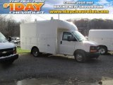 2014 Summit White Chevrolet Express Cutaway 3500 Utility Van #87910717