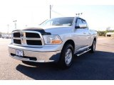 2010 Bright Silver Metallic Dodge Ram 1500 SLT Quad Cab #87911138