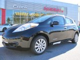 2013 Super Black Nissan LEAF S #87911058