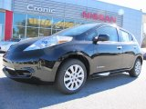 2013 Super Black Nissan LEAF S #87911057