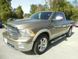 2010 Austin Tan Pearl Dodge Ram 1500 Laramie Quad Cab 4x4 #87911229