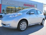 2013 Brilliant Silver Nissan LEAF S #87911053