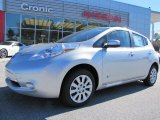 2013 Brilliant Silver Nissan LEAF S #87911052