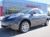 2013 Metallic Slate Nissan LEAF S #87911050