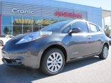 2013 Metallic Slate Nissan LEAF S #87911049