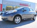 2013 Metallic Slate Nissan LEAF SV #87911048