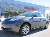 2013 Metallic Slate Nissan LEAF S #87911044