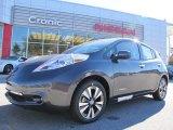 2013 Metallic Slate Nissan LEAF SL #87911043