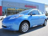 2013 Blue Ocean Nissan LEAF S #87911042