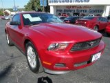 2011 Red Candy Metallic Ford Mustang V6 Coupe #87910776