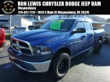 2011 Deep Water Blue Pearl Dodge Ram 1500 SLT Quad Cab 4x4 #87910968