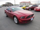 2014 Ruby Red Ford Mustang V6 Premium Coupe #87911113