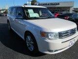 2010 White Platinum Tri-Coat Metallic Ford Flex Limited #87910761