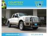 2012 Oxford White Ford F250 Super Duty King Ranch Crew Cab 4x4 #87911105
