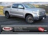 2014 Silver Sky Metallic Toyota Tundra Limited Crewmax 4x4 #87910679