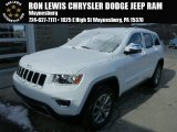 2014 Bright White Jeep Grand Cherokee Limited 4x4 #87910948