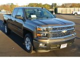 2014 Brownstone Metallic Chevrolet Silverado 1500 LT Double Cab #87911197