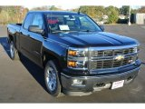 2014 Black Chevrolet Silverado 1500 LT Double Cab #87911194