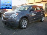 2014 Atlantis Blue Metallic Chevrolet Equinox LS AWD #87910746