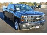 2014 Tungsten Metallic Chevrolet Silverado 1500 LT Crew Cab #87911193